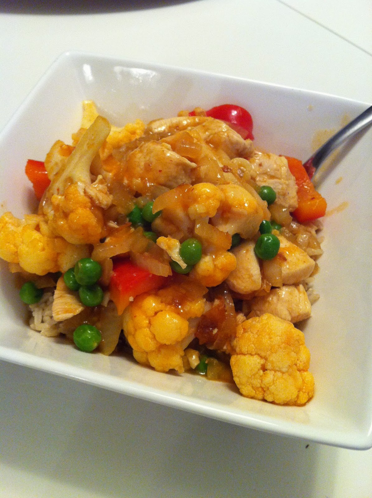 ... Kitchen with Reebs: Easy Weeknight Dinners - Chicken Curry in a Hurry