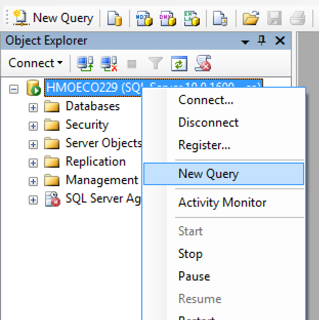 How to import data from a table in a database to a table for Sql server table design query