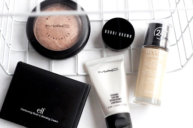 everyday basics makeup mac elf bobbi brown revlon