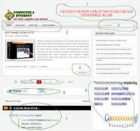 template blog xml html gratis keren ringan