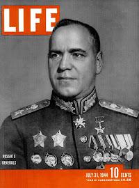 Mariscal GUEORGUI ZHÚKOV (Imperio Ruso 01/12/1896 - Moscú 18/06/1974).