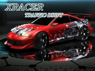Screenshots of the XRacer Traffic Drift for Android tablet, phone.