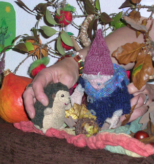 Monatsfeier Oktober, Waldorf, Puppenspiel, Kindergarten