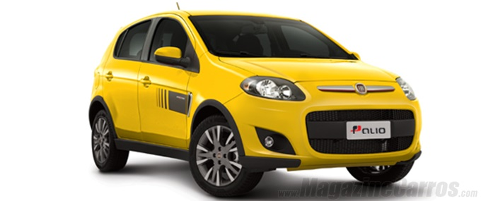 Novo Palio Sporting 2014 amarelo