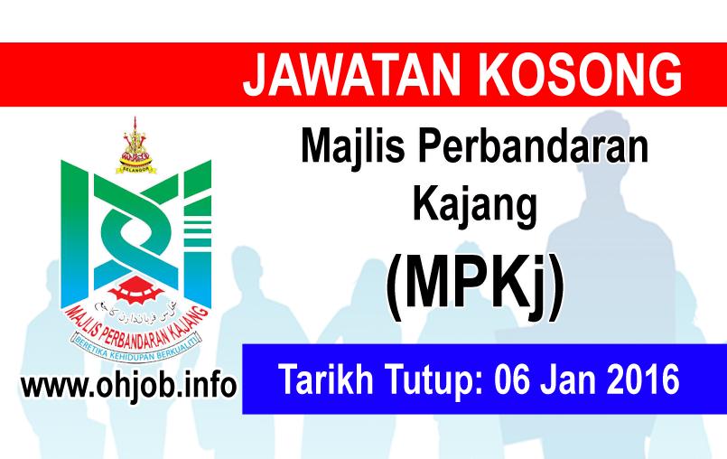 Jawatan Kerja Kosong Majlis Perbandaran Kajang (MPKj) logo www.ohjob.info januari 2016