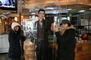 Patung Lilin Siwon Suju