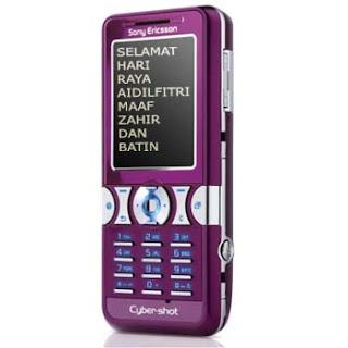 Koleksi SMS Ucapan Hari Raya 2012