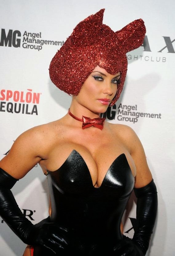 Coco Austin in Halloween Costume