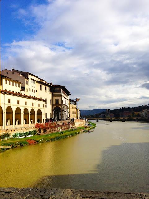 ponte vecchio, arno, florence, italy, europe, honeymoon, travel