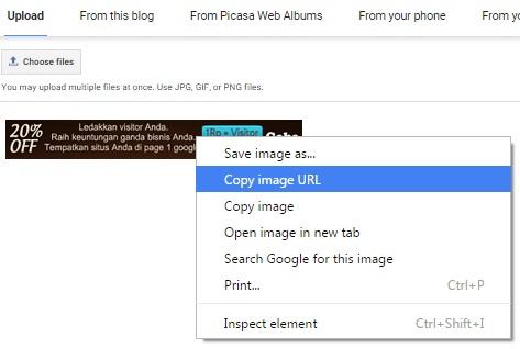 Cara Mengetahui dan Membuat URL Gambar