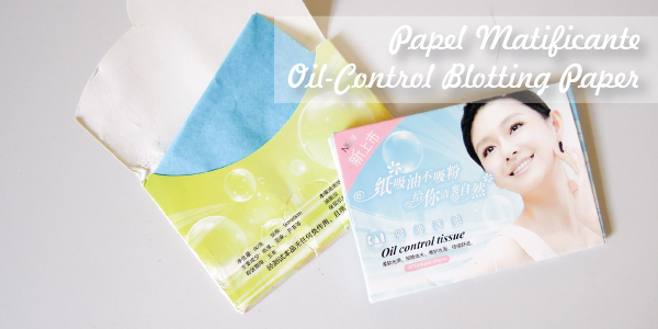 Papeis matificantes - Blotting Papers