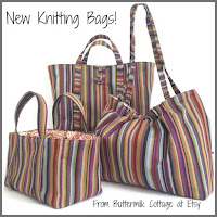 New Knitting Totes!