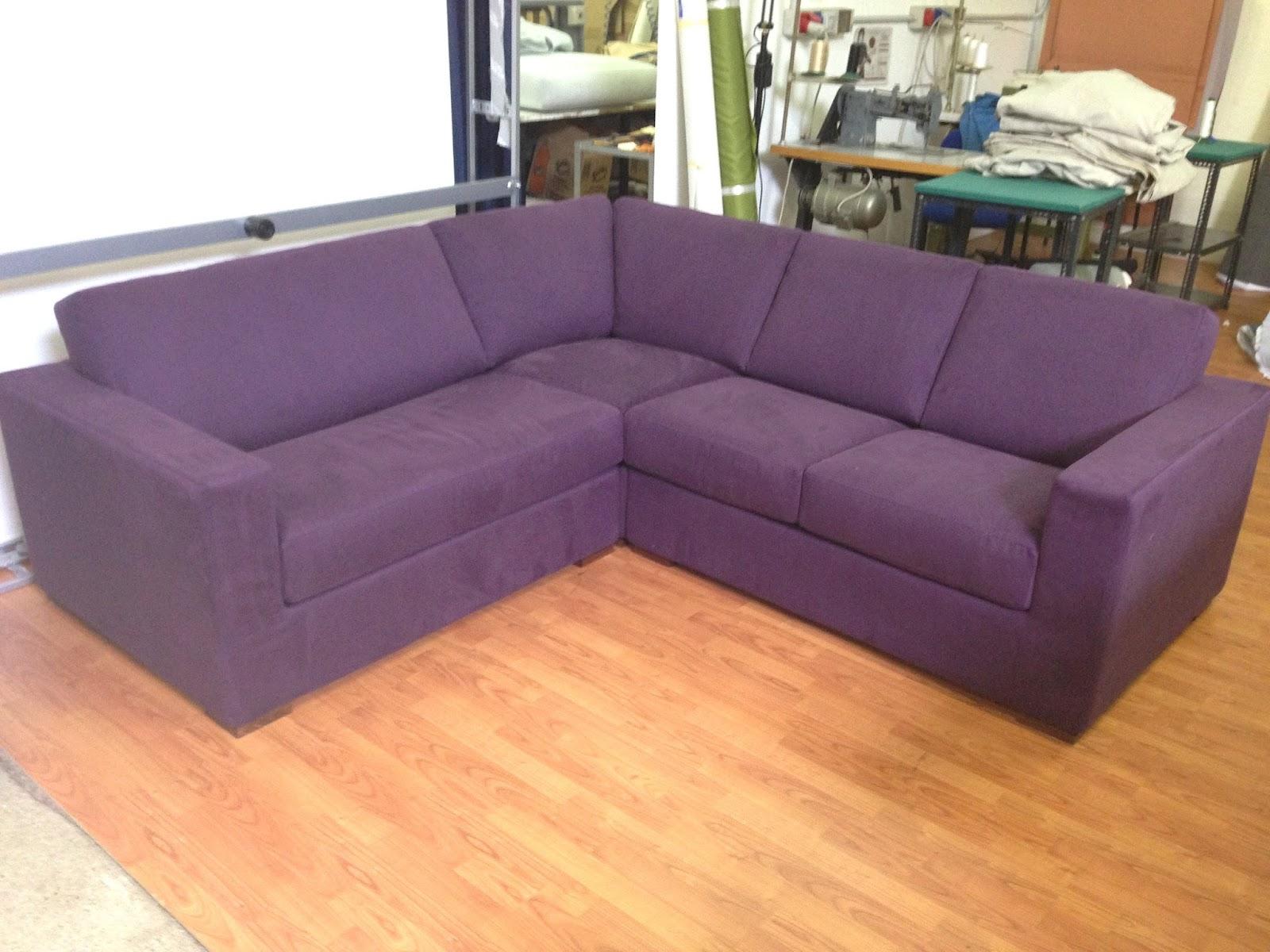 Divani e divani letto su misura divano angolare su misura - Microfibra divano ...