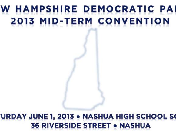 2013 NHDP Convention Saturday, 6-1-2013