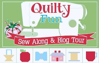 http://beeinmybonnetco.blogspot.com/2013/11/quilty-fun-sew-along-week-one-apples.html