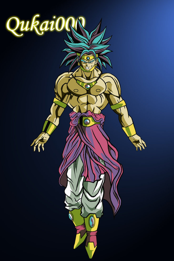Dragon ball z wallpapers broly restrained super saiyan - Super sayen 10 ...