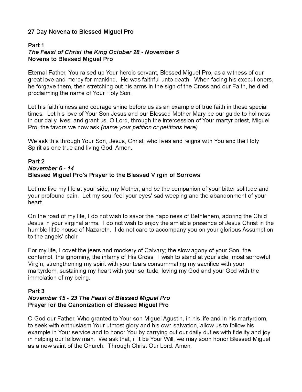 novena prayers for employment pdf