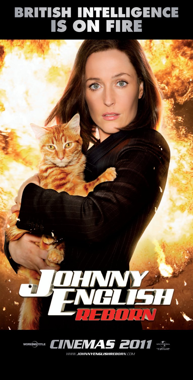 Johnny English Reborn poster