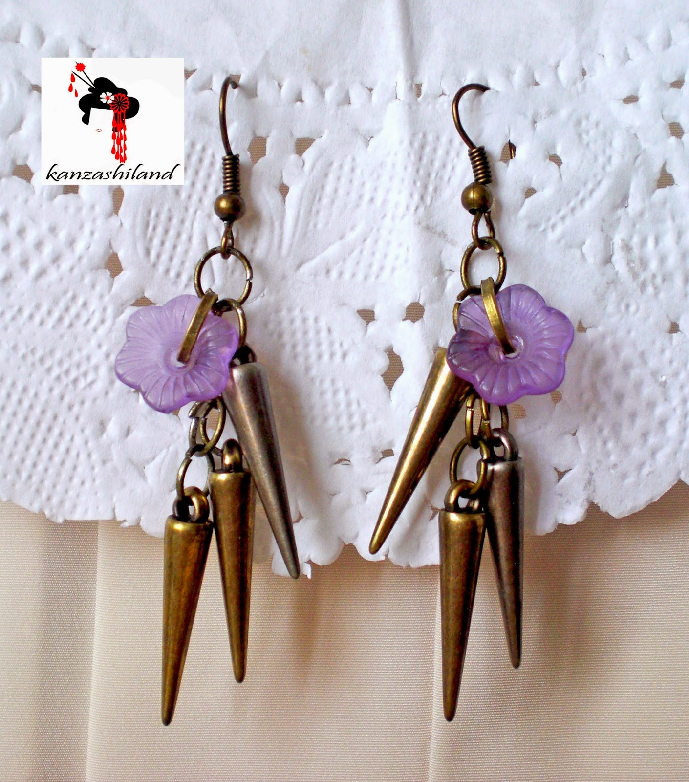 spikes earrings