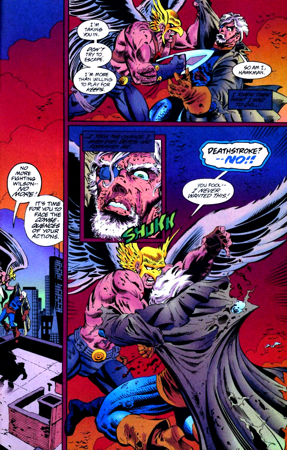 Deathstroke (1991) Issue #43 #48 - English 23