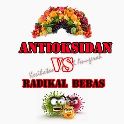 Antioksidan Melawan Radikal Bebas