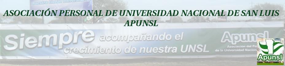 Asociación del Personal de la Universidad Nacional de San Luis