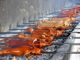 Lechon baboy is one of the most popular foods in the Philippines