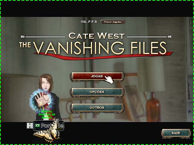 Cate West - The Vanishing Files PT-BR Portable