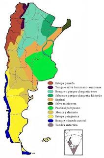 recorriendo la geografía argentina: mapas de interés