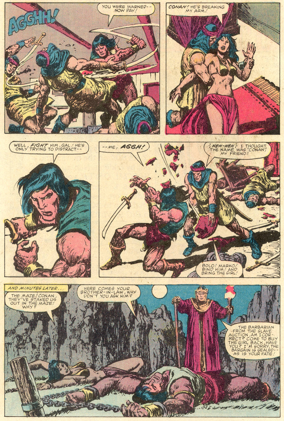Conan the Barbarian (1970) Issue #142 #154 - English 17