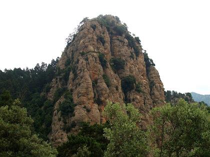 El Cap de Tastanós des del Cap de la Gotzera
