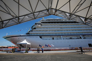 Fincantieri: Viking Sea launched in Ancona