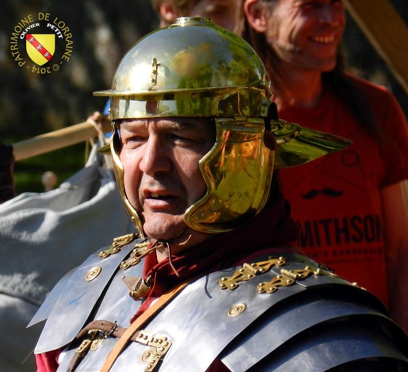SION (54) - Journée gallo-romaine - Légionnaire romain