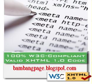 Meta Tag Valid XHTML