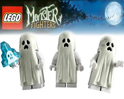 Happy Halloween Monster Fighters Lego Ghost Train Railway Set 9467 fantastic poltergeist Minifigure