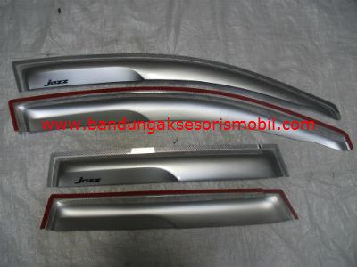 Talang Air Honda Jazz Silver Mugen Depan Belakang