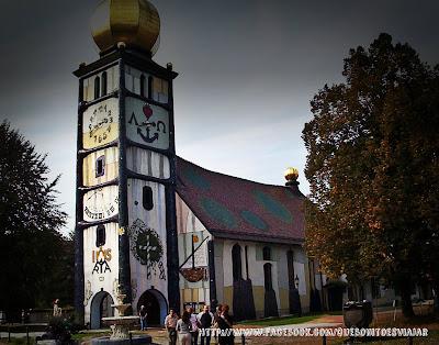 Hundertwasser Iglesia de Barnbach