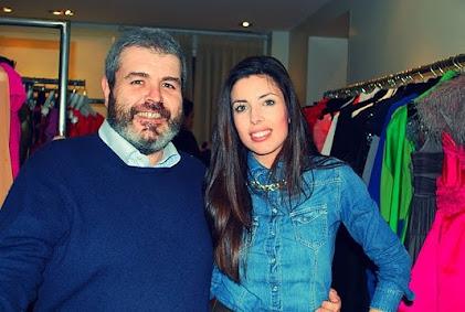 Con el modisto LORENZO CAPRILE en su atelier