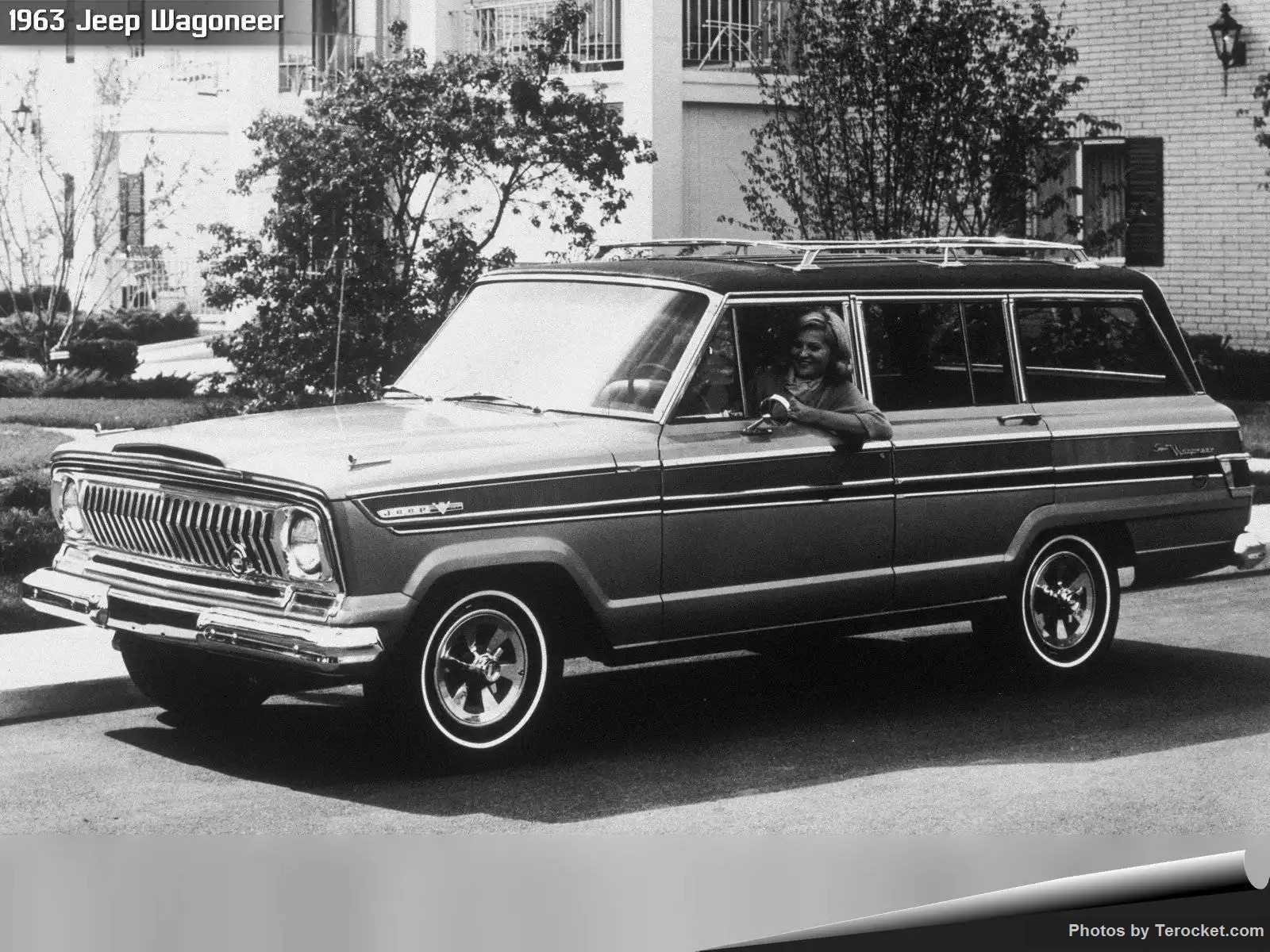 Hình ảnh xe ô tô Jeep Wagoneer 1963 & nội ngoại thất