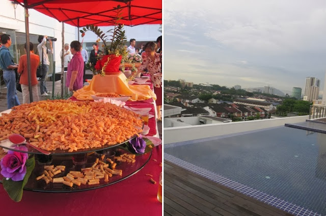 popiah snack outdoor wedding party