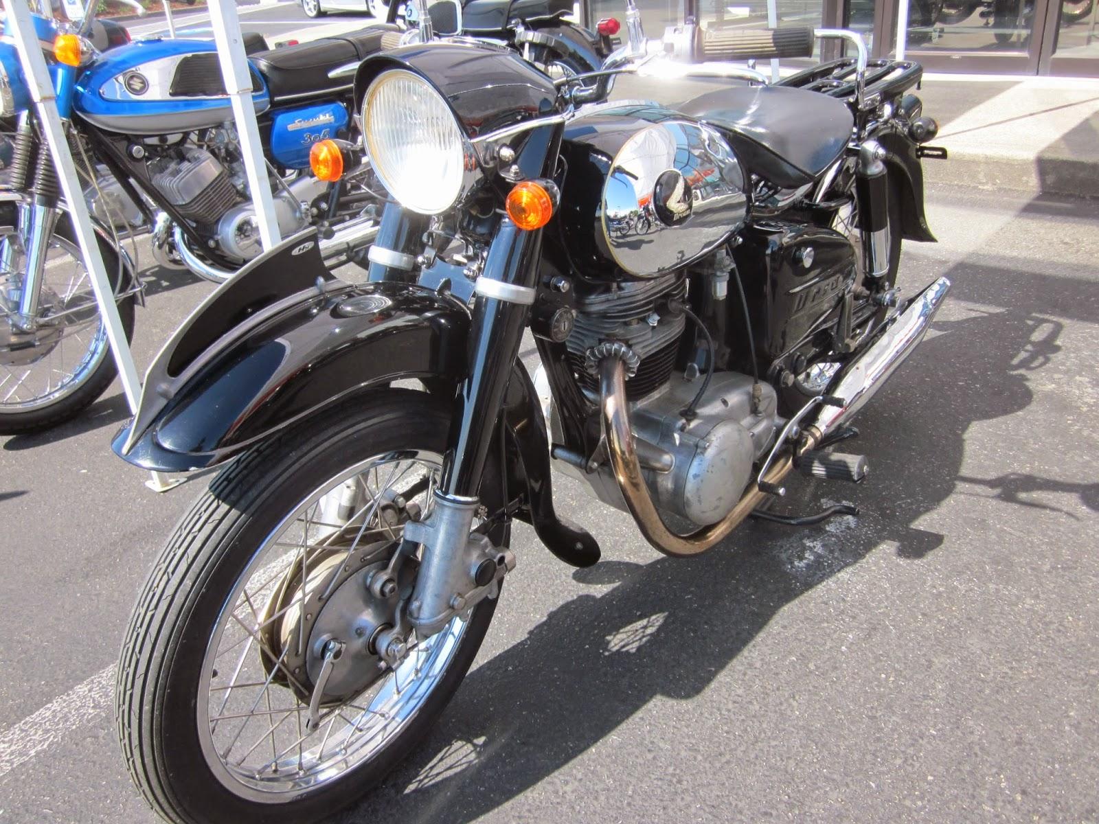 Oldmotodude 1957 honda dream on display at the 2014 vjmc for Hinshaw honda auburn wa