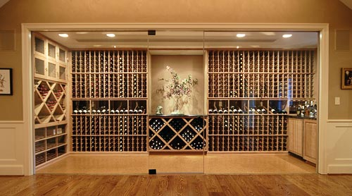 A really great space wine rooms at home for Cost to build wine cellar