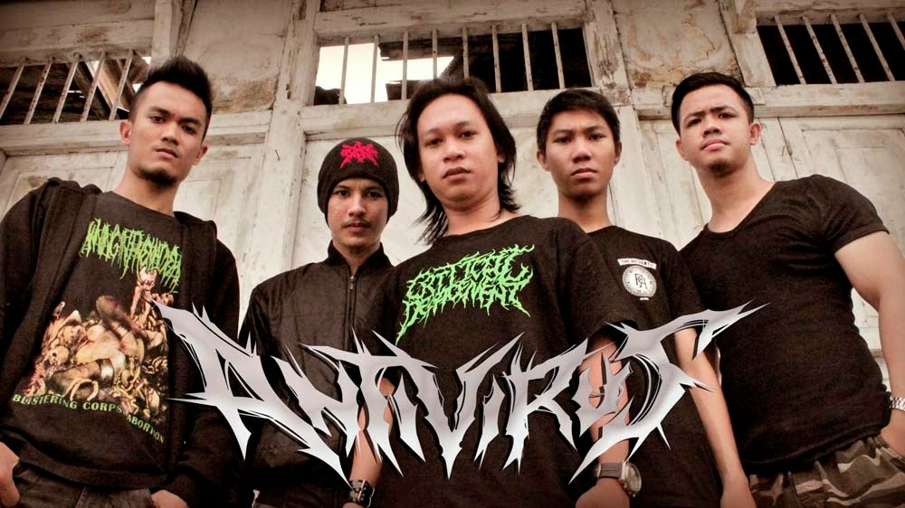 Antivirus Band Death Metal Gorontalo Foto Personil Logo Wallpaper