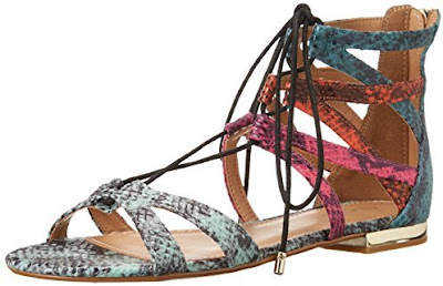 Aldo multicolored flat gladiator style sandals