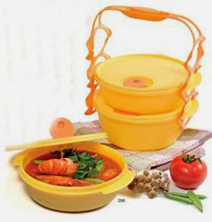 CARRY ALL BOWL TUPPERWARE