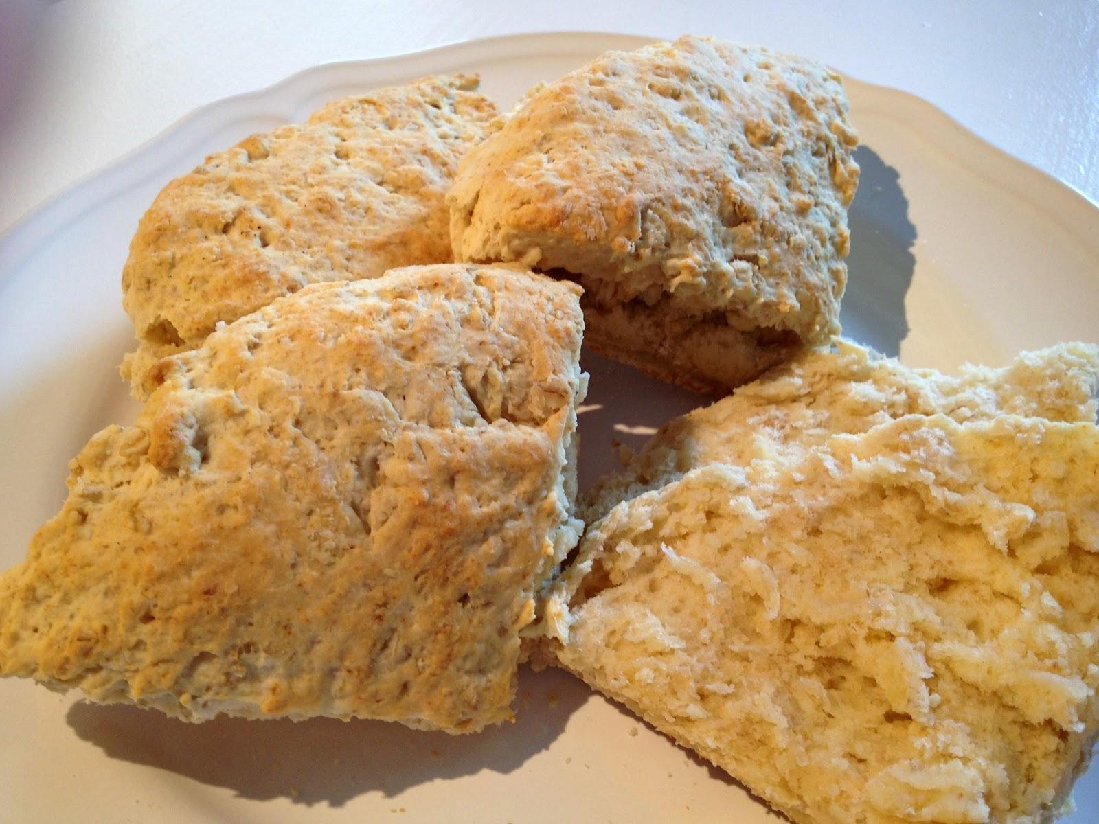 Bröd bakpulver havregryn