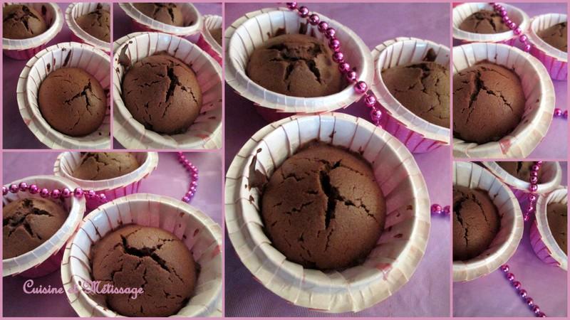 muffin chocolat marron