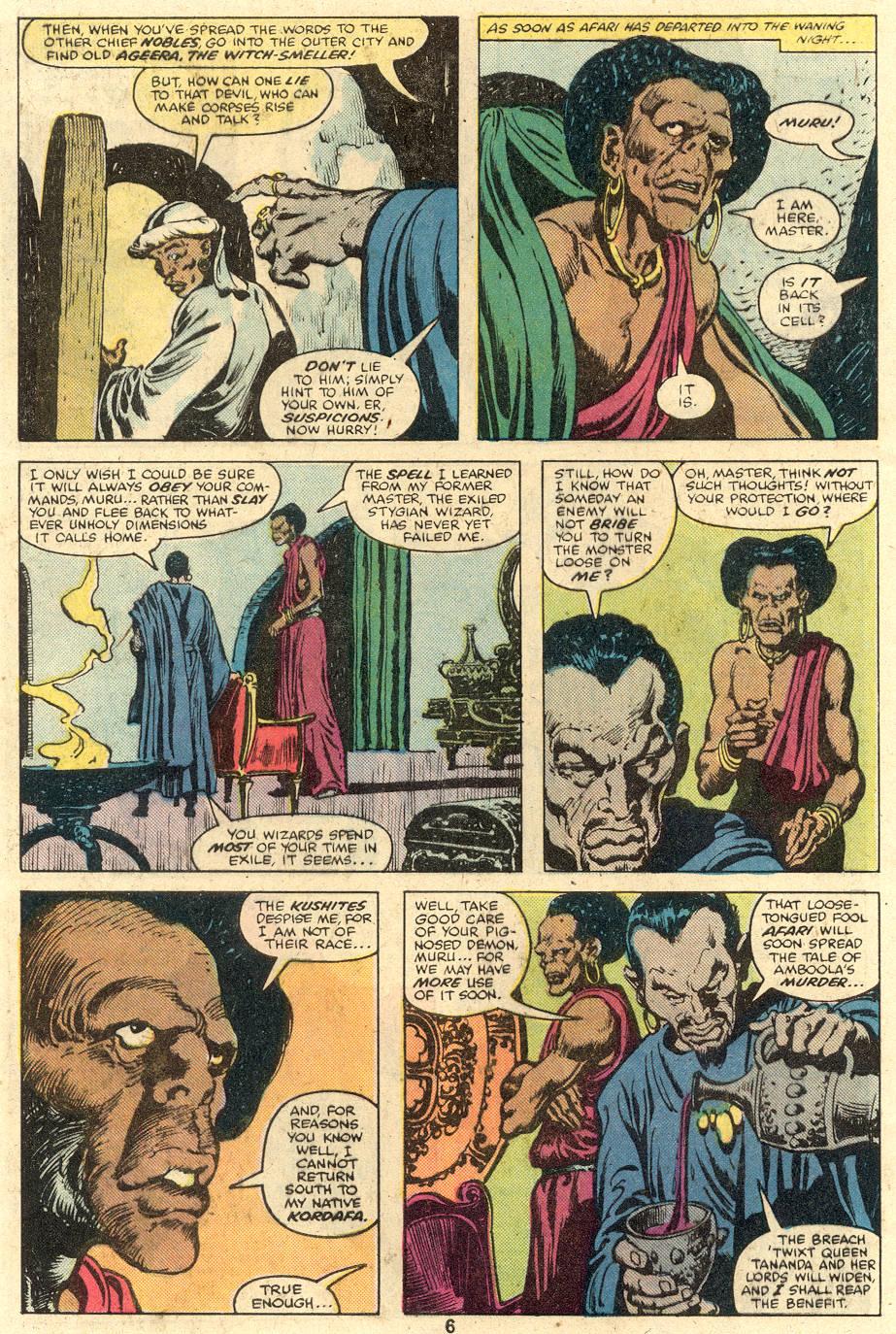 Conan the Barbarian (1970) Issue #106 #118 - English 6