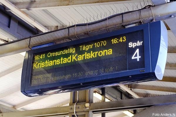 skylt, järnvägsstation