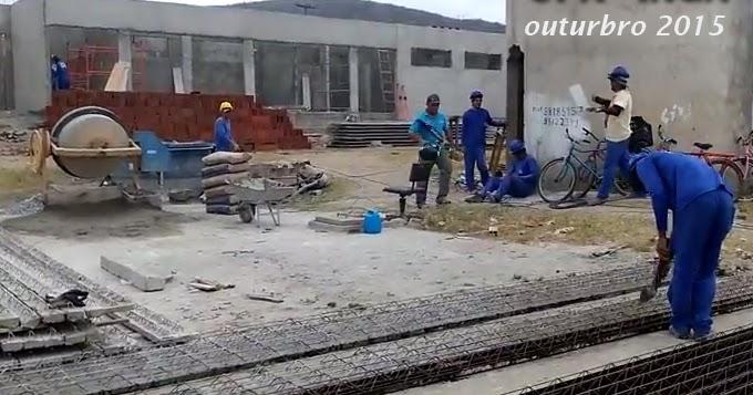 UPA do Ingá em construção, em ITABAIANA ainda não teve início